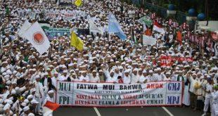 Demo 4 November di Jakarta