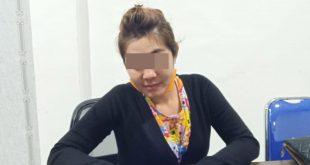 SD (31) lantaran diduga sebagai Mucikari atas kasus tindak pidana prostitusi online di Kabupaten Ketapang.