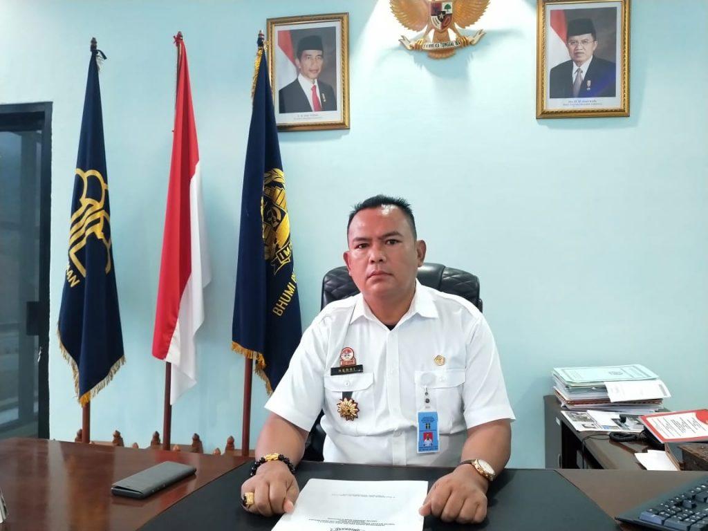 Ketua Panitia HUT ke-74 RI Perbatasan, Yang Juga Kepala kantor Imigrasi kelas ll TPI Entikong, Herri Prihatin.
