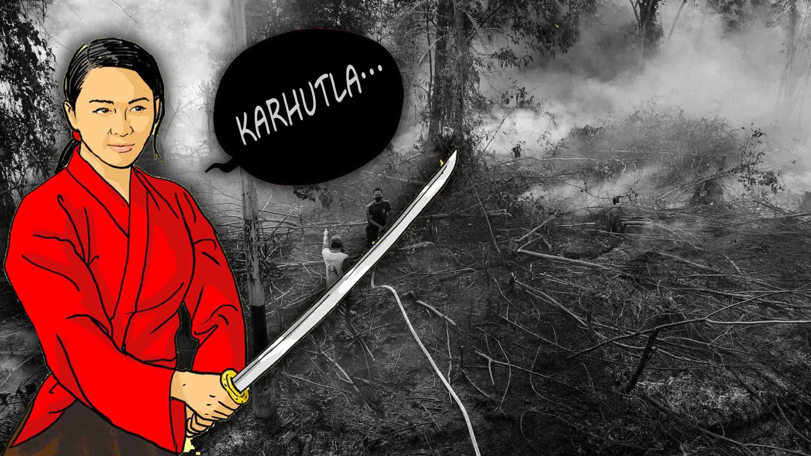 Ilustrasi Kalimantan Today