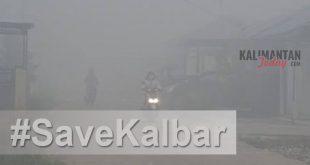 Kabut Asap di Pontianak/Kalimantan Today