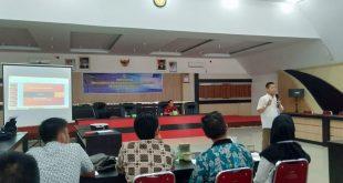 Foto--Suasana penyuluhan penggunaan bahasa Indonesia di media massa, Kamis (21/11)