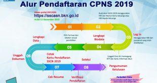 Foto—Alur pendaftaran CPNS 2019