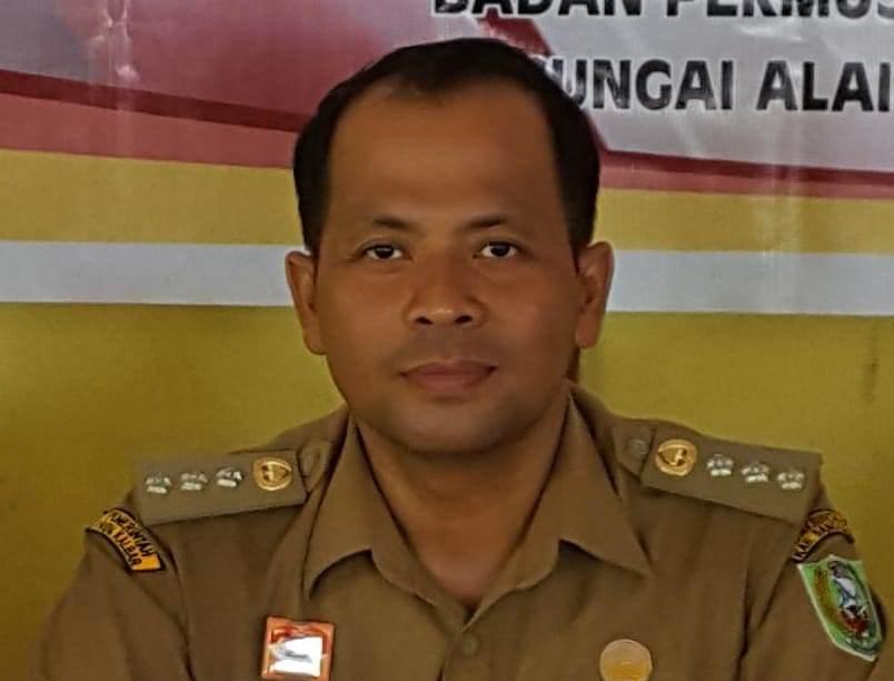 Foto---Kepala Dinas Penanaman Modal Pelayanan Terpadu Satu Pintu (DPMPTSP) Kabupaten Sanggau, Alipius.