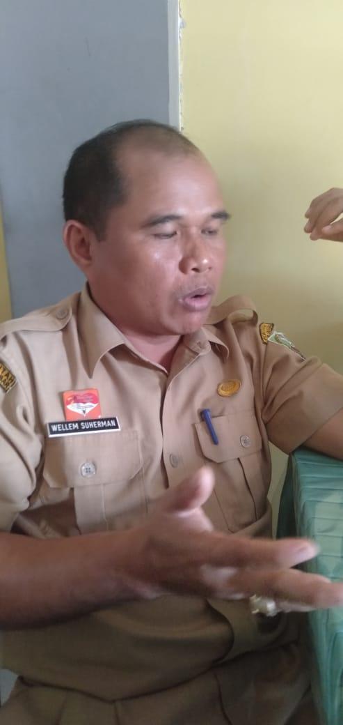 Foto—Kepala Badan Pendapatan Daerah (Bapenda) Kabupaten Sanggau, Wellem Suherman