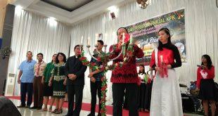 Hadiri Natal Bersama Komunitas Pelajar Sanggau, Wabup Yohanes Ontot: Berbuat Baik ke Semua Orang, Itulah Wujud Keimanan