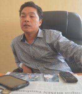 Foto--Wakil Ketua I DPRD Sanggau, Timotius Yance
