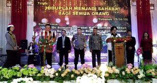 Hadiri Natal Bersama 2019, Paolus Hadi: Sanggau adalah Indonesia Kecil