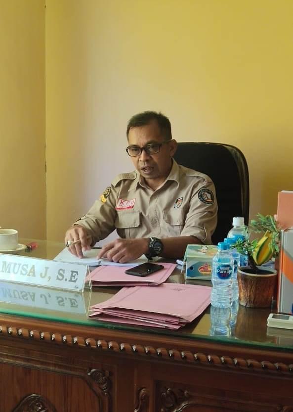 Ketua KPU Bengkayang Musa Jairani
