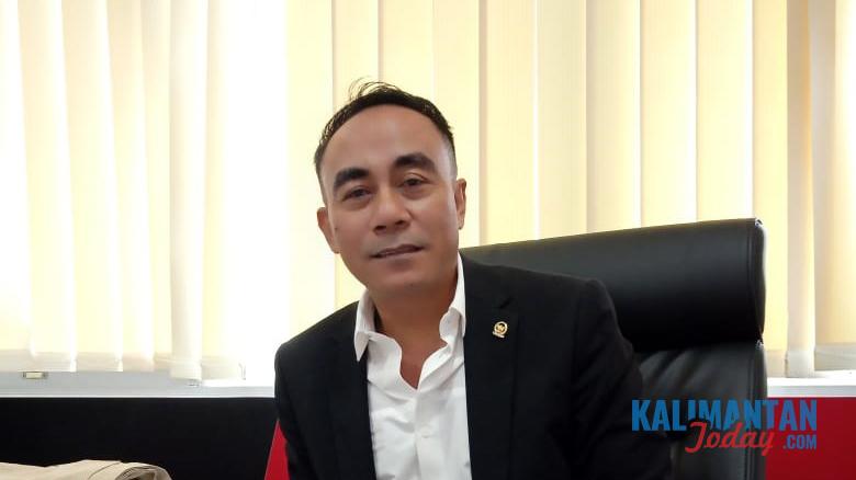 Anggota DPR RI, Krisantus Kurniawan saat ditemui Kalimantan Today di Komplek Parlemen RI Senayan, Kamis (27/2/2020)